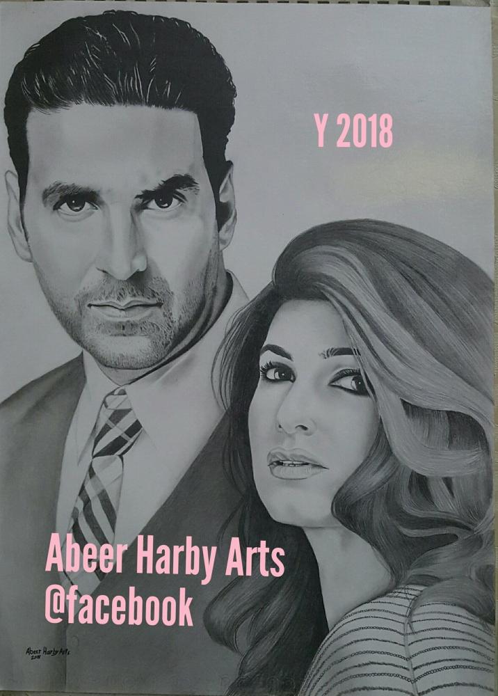 Twinkle Khanna, Akshay Kumar by AbeerHarby